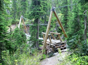 Rainbow Lake Trail Bridge